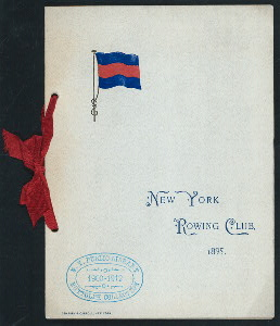 "ANNUAL DINNER [held by] NEW YORK ROWING CLUB [at] ""DELMONICO'S, NEW YORK, NY"" (HOT;)"