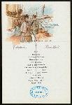 """BREAKFAST [held by] NORDDEUTSCHER LLOYD - BREMEN [at] """"EN ROUTE - S.S.""""""""H.H.MEIER"""""""""""" (SS)"""