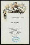 DINNER [held by] NORDDEUTSCHER LLOYD BREMEN [at] SS MEIER (SS;)
