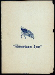 MENU [held by] AMERICAN I