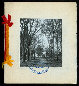 "EIGHTEENTH ANNUAL DINNER [held by] NEW YORK ASSOCIATION OF OBERLIN ALUMNI [at] ""ALDINE, [NEW YORK, NY?]"" ([HOTEL?];)"
