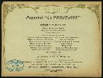 "DINNER [held by] CIE GLE TRANSLANTIQUE [at] ""ABOARD  """"LA PROVENCE"""""" (SS;)"