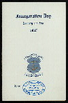 """INAUGURATION DINNER [held by] GOVERNOR JAMES H. HIGGINS [at] """"PROVIDENCE, RI"""" (OTHER;)"""