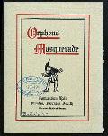 "DINNER [held by] ORPHEUS MASQUERADE [at] ""BUFFALO, NY"" (REST;)"
