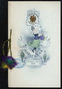 "MARDI GRAS [held by] THE NEW ST. CHARLES [at] ""NEW ORLEANS, LA"" (HOTEL;)"