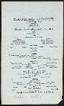 """DINNER [held by] LAUREL HOUSE [at] """"LAKEWOOD, NJ"""" ([HOTEL])"""