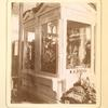 [Display of flowers in a glass cabinet M. P. Popova.]