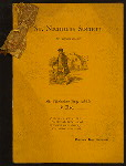 "ST. NICHOLAS DAY, 1892 [held by] ST. NICHOLAS SOCIETY OF NASSAU ISLAND [at] ""MONTAUK CLUB, BROOKLYN, NY"" (OTHER (CLUB);)"