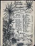 """GERMAN-AFRICAN MENU [held by] RESTAURANT DU PASSAGE [at] """"KOENIGSBERG, GERMANY"""" (REST;)"""