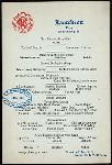"""LUNCHEON MENU [held by] BROADWAY CENTRAL HOTEL [at] """"NEW YORK, NY"""" (HOTEL;)"""