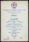 "FOURTH ANNUAL DINNER [held by] PENATAQUIT CORINTHIAN YACHT CLUB [at] ""MANHATTAN HOTEL, NY"" (HOTEL;)"