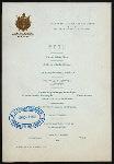 DINNER [held by] NEW YORK