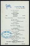 DINNER [held by] U.S.M.S.