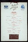 "NEW YEARS DAY DINNER [held by] GRAND HOTEL [at] ""MACKINAC ISLAND, MI"" (HOTEL;)"