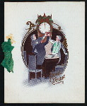 """NEW YEARS DAY DINNER [held by] MAGNOLIA HOTEL [at] """"ST. AUGUSTINE, FL"""" (HOTEL;)"""