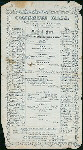 "DAILY MENU [held by] CONGRESS HALL [at] ""SARATOGA SPRINGS, NY"" (RESTAURANT)"