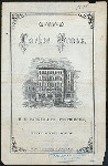 """DAILY MENU [held by] PARKER HOUSE [at] """"BOSTON, MA"""" (HOTEL)"""