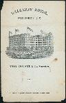 "DINNER MENU [held by] WILLARDS HOTEL [at] ""WASHINGTON, D.C."" (HOTEL)"