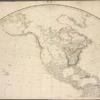 Map of the world on a globular projection.]