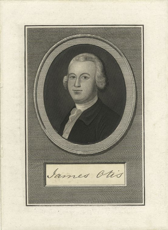 Fascinating Historical Picture of James Otis in 1854