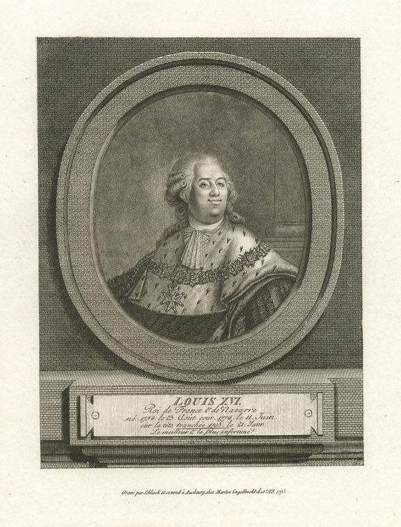 This is What King of France Louis XVI Looked Like  in 1793