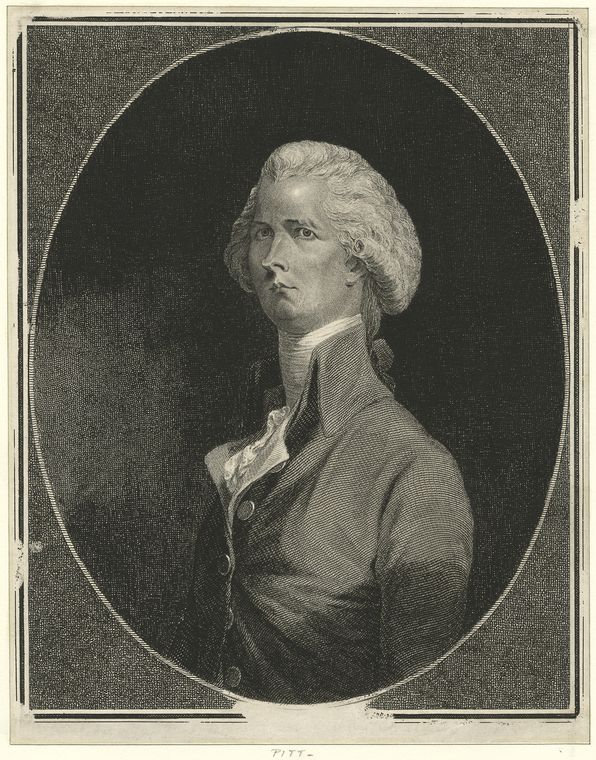 Fascinating Historical Picture of William Pitt in 1790