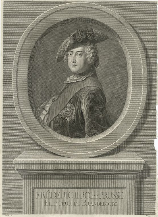 This is What King of Prussia Frederick II Looked Like  in 1757