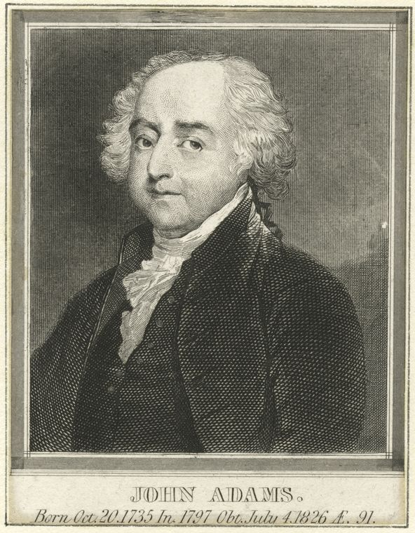 This is What John Adams Looked Like  in 1830