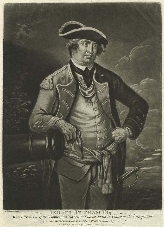 Fascinating Historical Picture of Israel Putnam in 1775