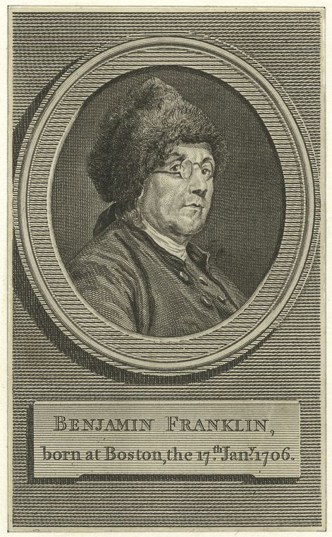 Fascinating Historical Picture of Benjamin Franklin in 1780