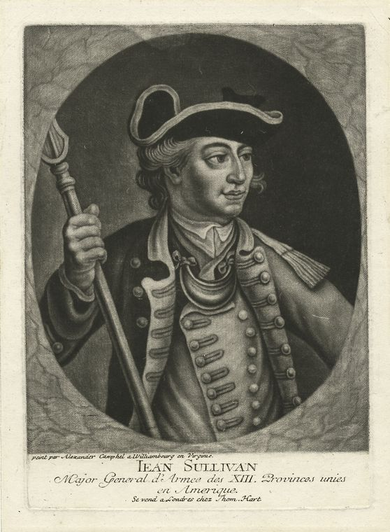 Fascinating Historical Picture of John Sullivan in 1776