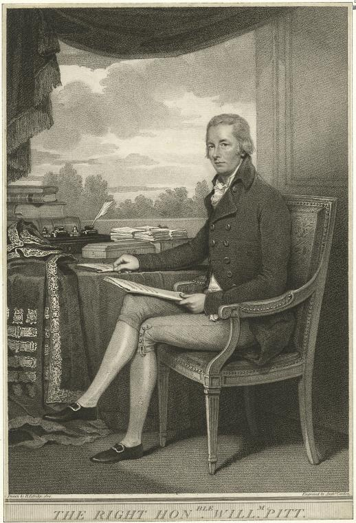Fascinating Historical Picture of William Pitt in 1801