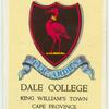 Dale College, King William's Town, Cape Province.