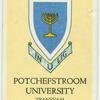 Potchefstroom University, Transvaal.