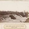 Vodopad Kivach, na reke Sune, v 70-ti ver. ot g. Petrozavodska. Obshchii vid na vodopad.