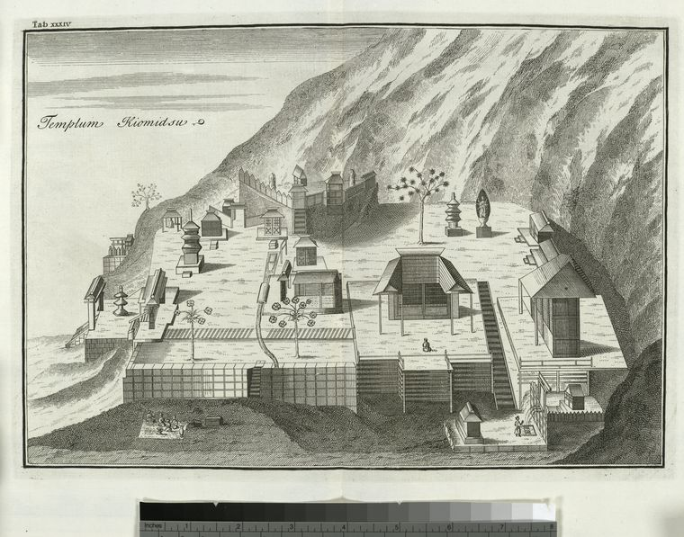 Fascinating Historical Picture of Engelbert Kaempfer on 1/1/1727
