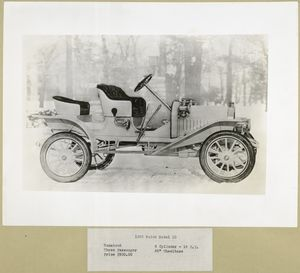 1908 Buick Model 10 - Runabout - 4 cylinder - 18 H.P.