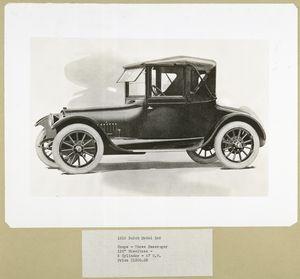 1916 Buick Model D46 .  Coupe - three passenger.