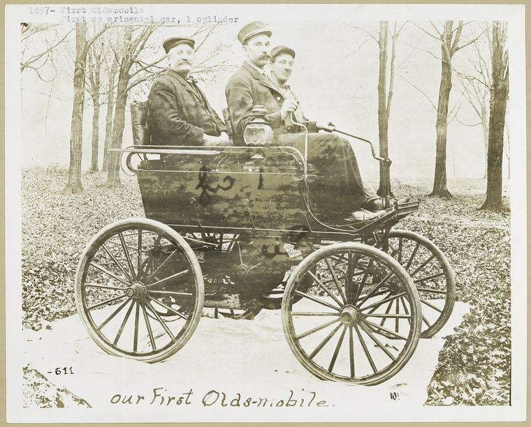 Our First Oldsmobile - 1897.