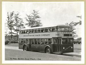 72 Pass. Double Deck Coach - 1936. [Chicago Motor Coach Company].