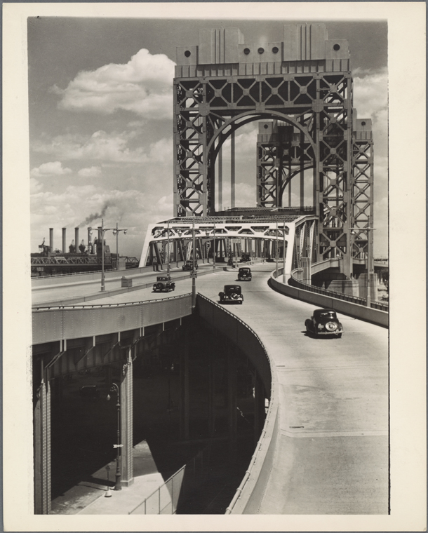 Triborough Bridge, East 125th Street approach, Manhattan.