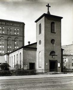 St. Lukes Chapel, 483 Hudson Street, Manhattan.