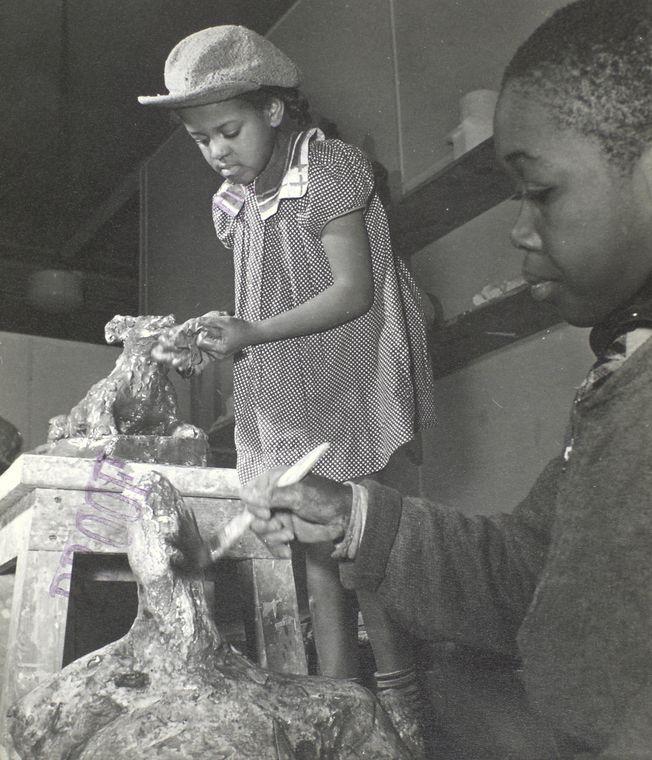 Harlem Community Art Center: II, 290 Lenox Avenue, Manhattan.