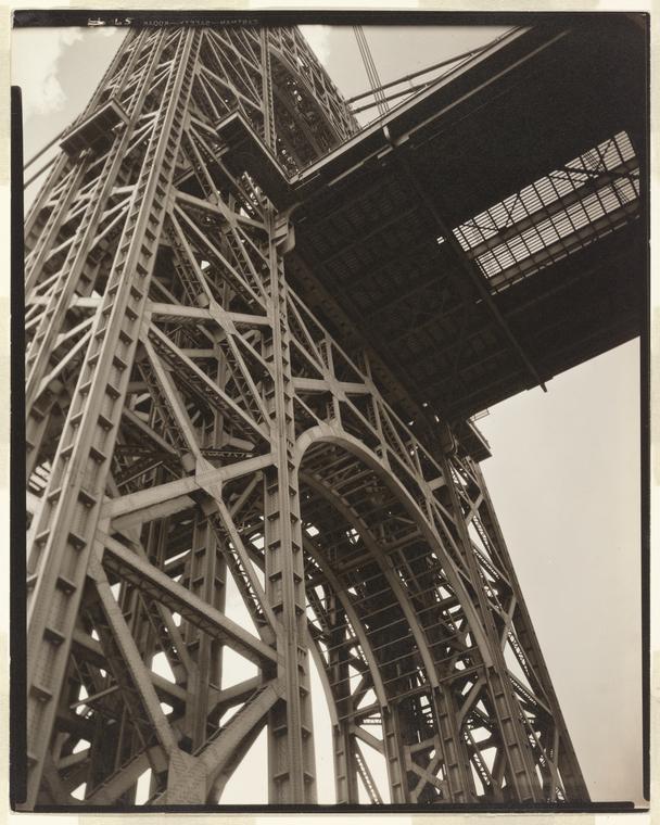 George Washington Bridge, Riverside Drive and 179th Street, Manhattan.