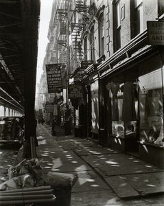 Allen Street, no. 55-57, Manha... Digital ID: 482676. New York Public Library