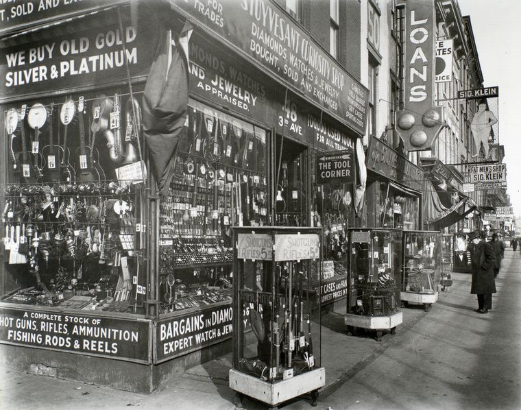 Pawn Shop, 48 Third Avenue, Manhattan.