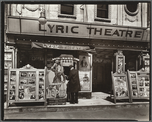 Lyric Theatre, Third Avenue between 12th and 13th street, Manhattan.