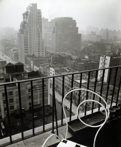 General view from penthouse, 56 Seventh Avenue, Manhattan.