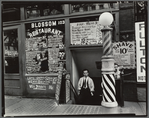 Blossom Restaurant, 103 Bowery... Digital ID: 482799. New York Public Library