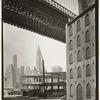 Brooklyn Bridge, Water and Dock Streets, looking southwest, Brooklyn.